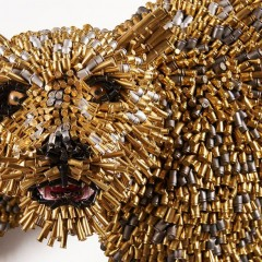 ARTE. L'arte fatta coi bossoli   Federico Uribe e la passione dei proiettili